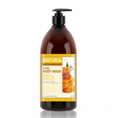 EVAS Naturia Pure Body Wash Honey & White Lily