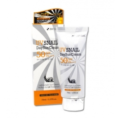 3W CLINIC UV Snail Day Sun Cream SPF50+++