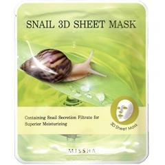 MISSHA Snail 3D Sheet Mask