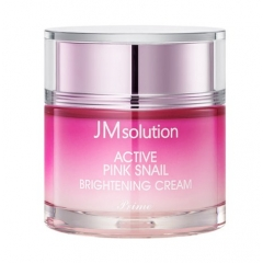 JMSOLUTION Active Pink Snail Brightening Cream