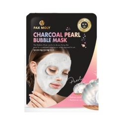 PAX MOLY Charcoal Pearl Bubble Mask