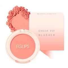 EGLIPS Cheek Fit Blusher №4 Coral