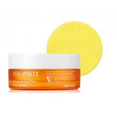 TONY MOLY Vital Vita 12 Shining Peeling Pad