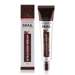 FOODAHOLIC Snail Eye & Face Cream