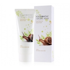 FOODAHOLIC Natural Touch Snail Moisture Hand Cream