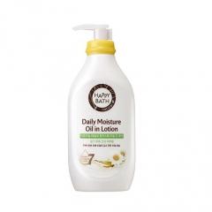 HAPPY BATH Daily Moisture Oil in Lotion Chamomile