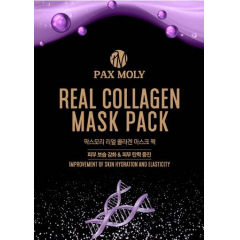PAX MOLY Real Collagen Mask Pack