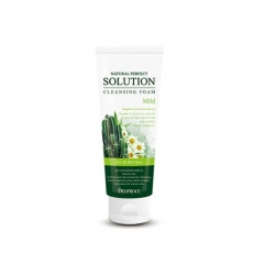DEOPROCE Natural Perfect Solution Cleansing Foam Mild
