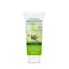 DEOPROCE Natural Perfect Solution Cleansing Foam Snail