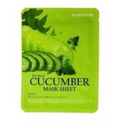 BARONESS Cucumber Mask Sheet