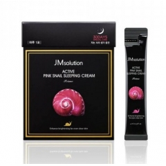 JMSOLUTION Active Pink Snail Sleeping Cream
