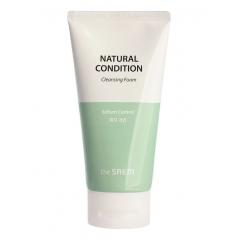 THE SAEM Natural Condition Cleansing Foam Sebum Control