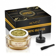 AL'IVER Gold Magnetic Mask