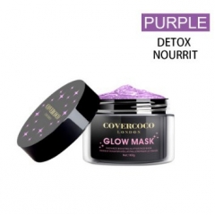 COVERCOCO Glow Mask Purple  Tiara