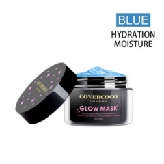 COVERCOCO Glow Mask Blue Tiara