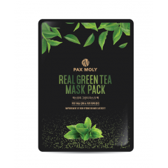 PAX MOLY Real Green Tea Mask Pack