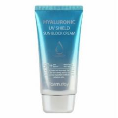 FARM STAY Hyaluronic UV Shield Sun Block Cream SPF50+ PA+++