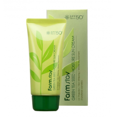 FARM STAY Green Tea Seed Moisture Sun Cream SPF50+ PA+++