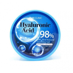 3W CLINIC Hyaluronic Acid Natural Soothing Gel 98%