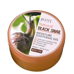 JIGOTT Natural Black Snail Moisture Soothing Gel