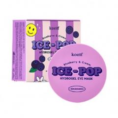KOELF Blueberry & Cream Ice-Pop Hydrogel Eye Mask