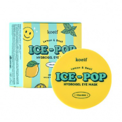 KOELF Lemon & Basil Ice-Pop Hydrogel Eye Mask