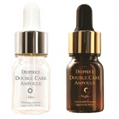 DEOPROCE Double Care Ampoule Day & Night Single Pack