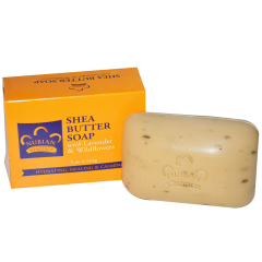 NUBIAN HERITAGE Shea Butter Soap, with Lavender & Wildflowers